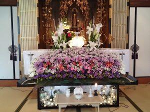 お寺での家族葬